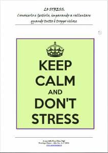 Elena Tigli - lo stress